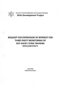 Skills Development Project