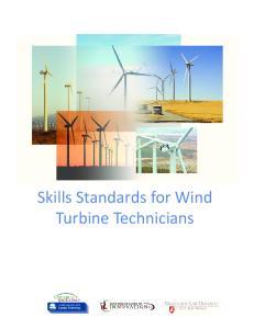 Skills Standards for Wind Turbine Technicians