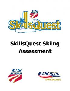 SkillsQuest Skiing Assessment