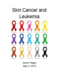 Skin Cancer and Leukemia