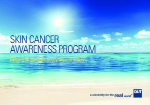 SKIN CANCER AWARENESS PROGRAM. Helping Australians enjoy the sun safely