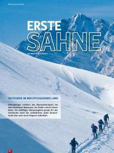 Skitouren im Berchtesgadener Land