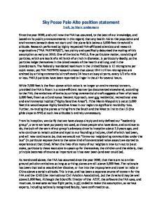 Sky Posse Palo Alto position statement Draft, by Mark Landesmann