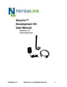 Skywire Development Kit User Manual