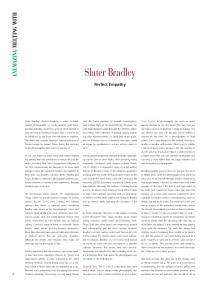 Slater Bradley. Perfect Empathy