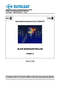 SLAVE MICROCONTROLLER