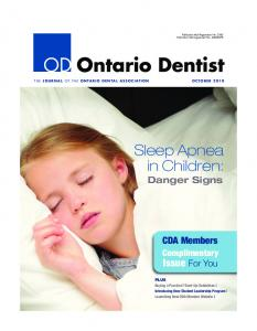 Sleep Apnea in Children: