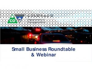 Small Business Roundtable