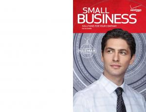 SMALL BUSINESS SOLUTIONS FOR YOUR COMPANY. Fall 2010 FREE