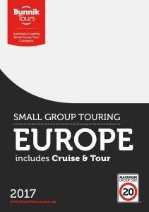 SMALL GROUP TOURING EUROPE