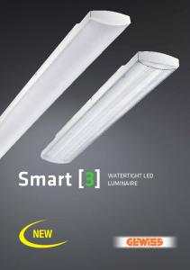 Smart [3] WATERTIGHT LED LUMINAIRE NEW