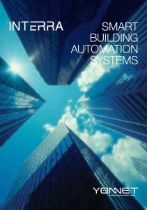 SMART BUILDING AUTOMATION SYSTEMS