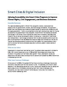 Smart Cities & Digital Inclusion