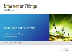 Smart City Tour Overview