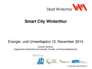 Smart City Winterthur