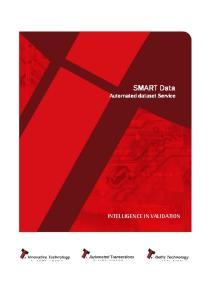 SMART Data Automated dataset Service