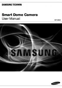 Smart Dome Camera. User Manual SCP-2250H