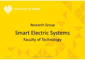 Smart Electric Systems