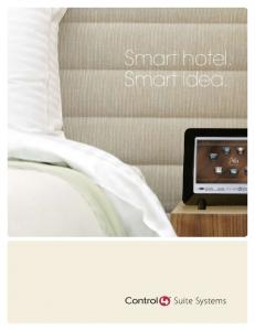 Smart hotel. Smart idea