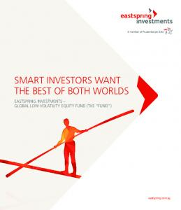 SMART INVESTORS WANT THE BEST OF BOTH WORLDS