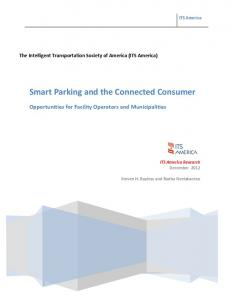 Smart Parking and the Connected Consumer