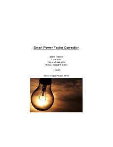Smart Power Factor Correction