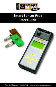 Smart Sensor Pro+ User Guide