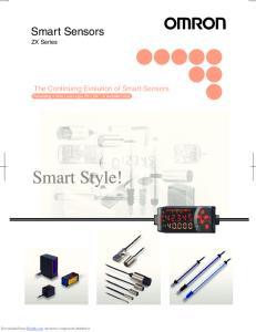 Smart Sensors ZX Series