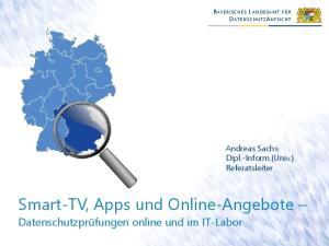 Smart-TV, Apps und Online-Angebote
