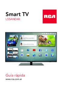 Smart TV. Guía rápida L55AND4K