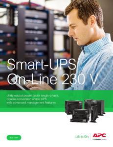 Smart-UPS On-Line 230 V