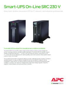Smart-UPS On-Line SRC 230 V