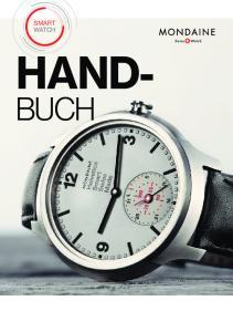 SMART WATCH HAND- BUCH