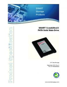 SMART XceedUltraX2 PATA Solid State Drive