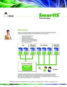 SmartIS Product Description