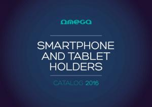 smartphone and tablet holders catalog 2016