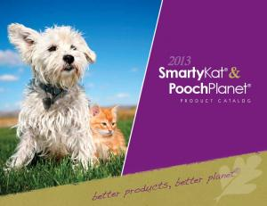 SmartyKat & PoochPlanet. better products, better planet