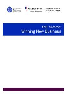 SME Success: Winning New Business