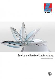 Smoke and heat exhaust systems. EN-compliant solutions