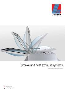 Smoke and heat exhaust systems. EN-compliant solutions. Customized Intelligence Dem Kunden dienen als Programm