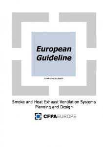 Smoke and Heat Exhaust Ventilation Systems Planning and Design