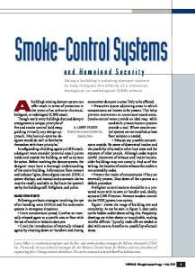 Smoke-Control Systems