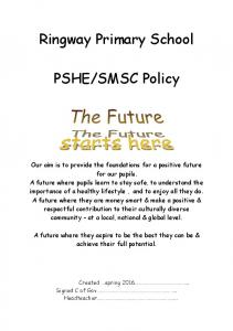 SMSC Policy