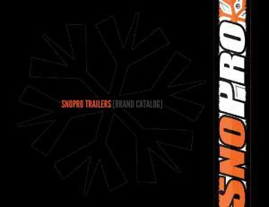 SNOPRO TRAILERS [BRAND CATALOG]