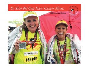 So That No One Faces Cancer Alone Annual Report