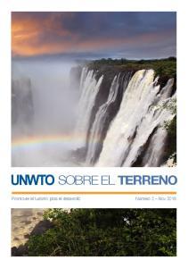 SOBRE EL TERRENO. Promover el turismo para el desarrollo