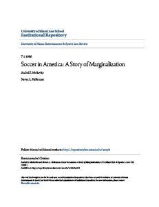 Soccer in America: A Story of Marginalization