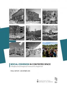 Social Cohesion in Contested Space
