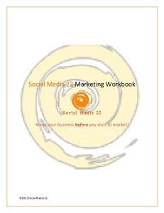 Social Media 22 Marketing Workbook