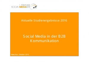 Social Media in der B2B Kommunikation